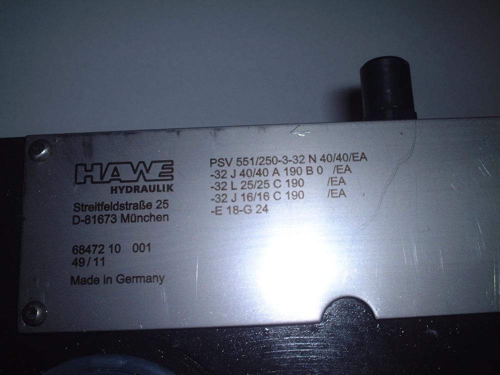 PSV 551/250-3 | Eurofluid